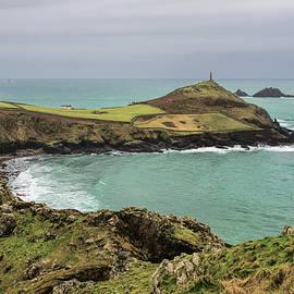 Cape Cornwall From Kenidjack Castle by Pete Hemington