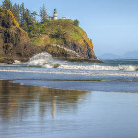 Cape Disappointment - Vertical by Kristina Rinell