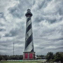 Tom Gari Gallery-Three-Photography - Cape Hatteras Lighthouse