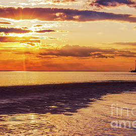 Melissa Fague - Cape Henlopen Sunset Landscape Photography