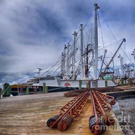 Priscilla Burgers - Cape May Scallop Fishing Boat