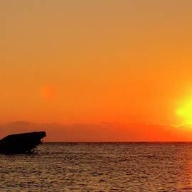 Geraldine Scull - Cape May sunset beach