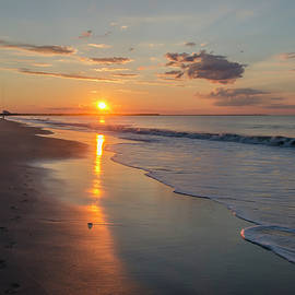 Bill Cannon - Cape May - Surf and the Sunrise