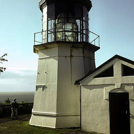 Cape Mears Lighthouse by Sally Weigand