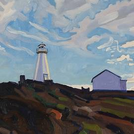 Cape Spear Light by Phil Chadwick