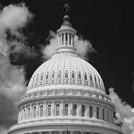 Steve Gadomski - Capital Dome Washington D C  B W