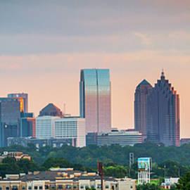 Reid Callaway - Capital of the South Atlanta Cityscape Art