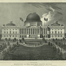 Capitol of the Unites States - 19th century