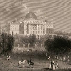 Capitol of the Unites States, Washington  - 19th century