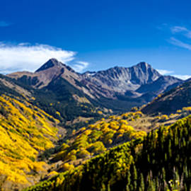 Capitol Peak Valley Panorama by Teri Virbickis