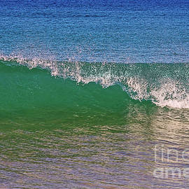 Capping Wave by Kaye Menner