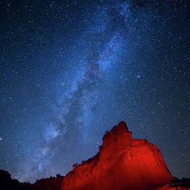 Stephen Stookey - Caprock Canyons October Sky