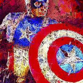 Captain America by Al Matra