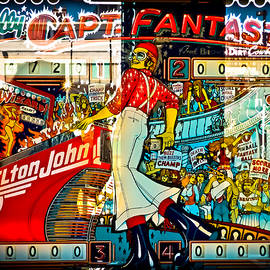 Captain Fantastic - Pinball by Colleen Kammerer