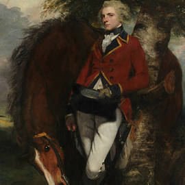 Captain George K. H. Coussmaker  - Joshua Reynolds