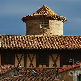Old Architecture In Carcassonne Occitanie  by Poet's Eye