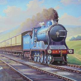 Cardean on Anglo-Scottish express. - Mike Jeffries
