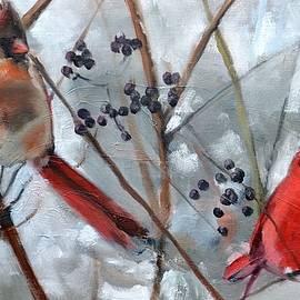 Donna Tuten - Cardinal Couple