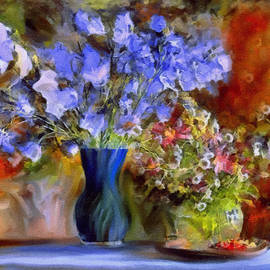 Caress Of Spring - Impressionism by Georgiana Romanovna
