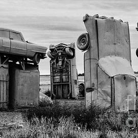 Carhenge Nebraska 11 by Bob Christopher
