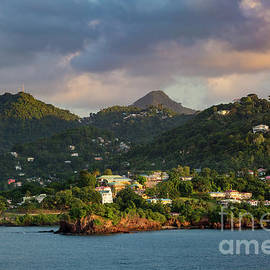 Caribbean Evening by Brian Jannsen