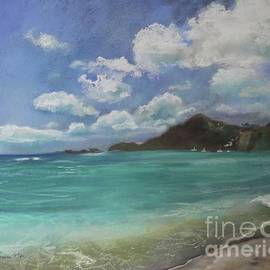 Caribbean Sea Day Antigua by Robin Maria Pedrero