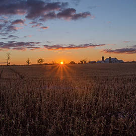 Bill Cannon - Carlisle Pa Farm Sunrise