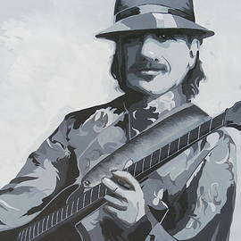 Carlos Santana by Ken Jolly