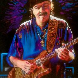 Carlos Santana by Robert Korhonen