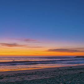 Bruce Pritchett - Carlsbad Jetty Sunset