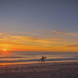 Bruce Pritchett - Carlsbad Sunset Surfer