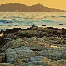 Flying Z Photography By Zayne Diamond - Carmel Bay Gold, Carmel, California