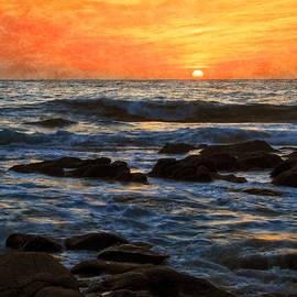 Flying Z Photography By Zayne Diamond - Carmel Bay Sunset, Carmel, California