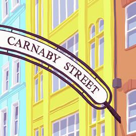 Steve Ash - Carnaby Street , London