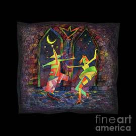 Carnival Dance by BlackLineWhite Art