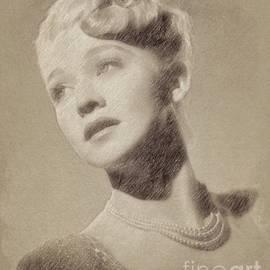 Carole Landis, Vintage Actress by John Springfield - John Springfield