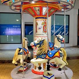 Carousel At Ala Moana by Mary Deal
