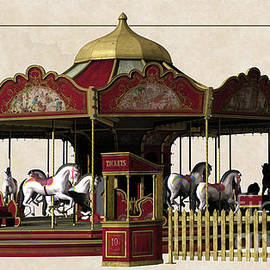 L Wright - Carousel Rides Ten Cents
