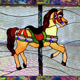 Carousel Stained Glass