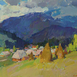 Carpathians. Summer morning. by Aleksandr Kryushyn