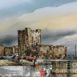 Carraigfergus Castle, Antrim by Val Byrne