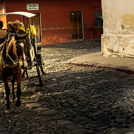 Carriage - Antigua Guatemala III by Totto Ponce
