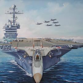 Carrier John F. Kennedy by Teresa Trotter