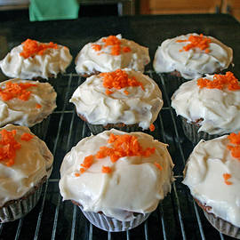 Carrot Cake Cupcakes by Kay Novy