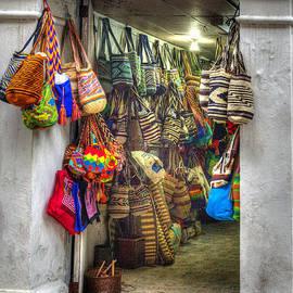 Cartagena Bag Shop by Bob Hislop