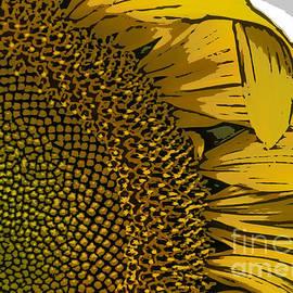 Janice Rae Pariza - Cartoon Sunflower