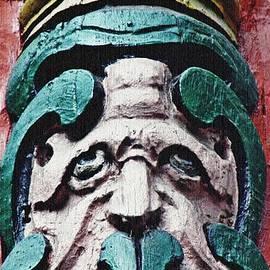 Carved Window Post Mainz