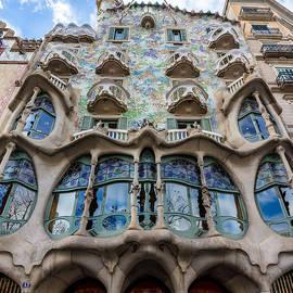 Casa Batllo Barcelona Spain by Adam Rainoff