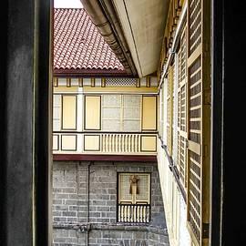 Mark Sellers - Casa Manila Courtyard Window