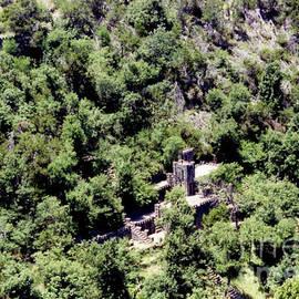 Ruth Housley - Castle At Turner Falls Oklahoma
